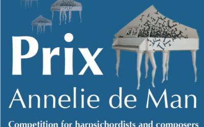 Finalist 2018 Prix Annelie de Man Competition